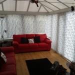 verticalblind in conservatory